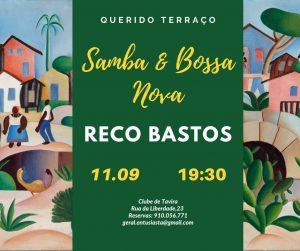 ENTUSIASTA CATERING & EVENTS SAMBA & BOSSA NOVA with RECO BASTOS