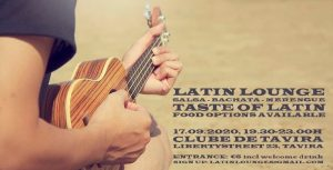 LATIN LOUNGE TASTE OF LATIN