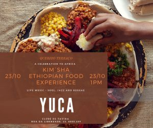 ENTUSIASTA CATERING & EVENTS KIM´SHA ETHIOPIANFOOD EXPERIENCE with YUCA