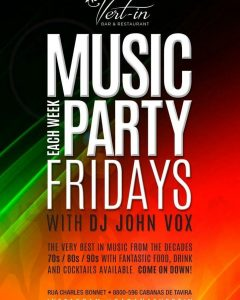 MUSIC PARTY FRIDAY with DJ JOHN VOX